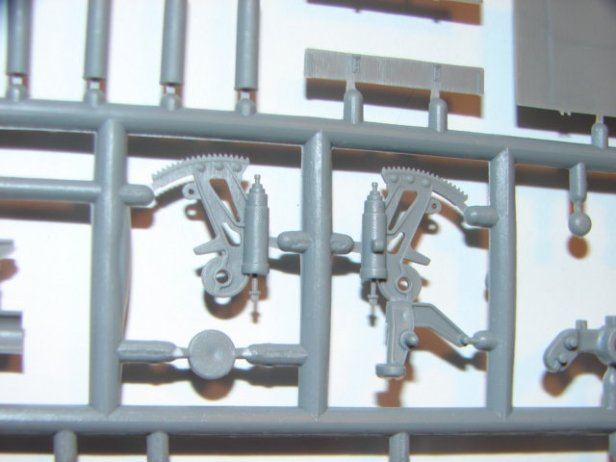 Example of injection-moulding sprues
