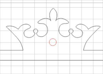 free laser cutting resources: initial letter door plaque