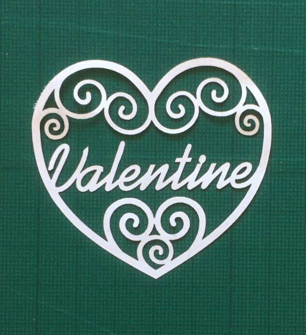 white valentine filigree papercutting