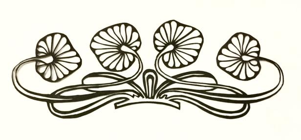 decorative vector ornament 009 close up