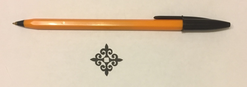 decorative vector ornaments 011 with pen for scale