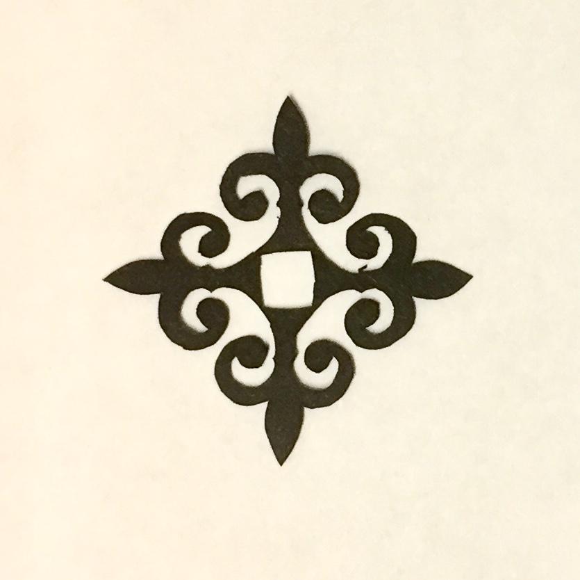 decorative vector ornaments papercutting 011