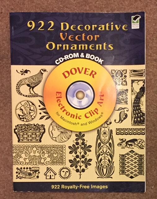 922 decorative vector ornaments - dover books
