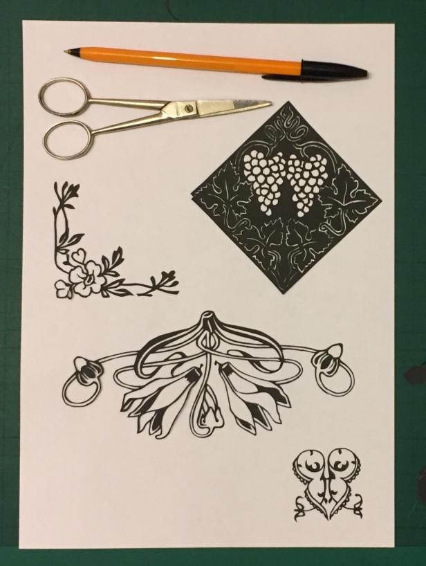 Latest papercutting designs