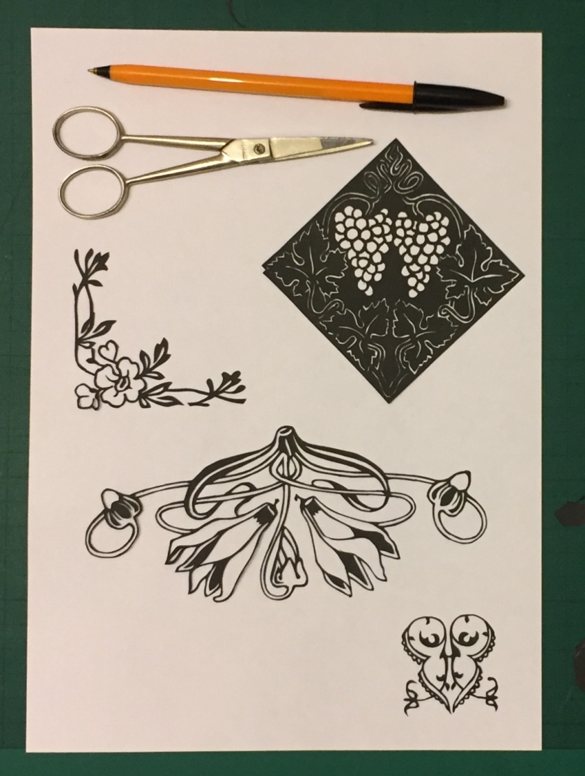Latest papercutting designs