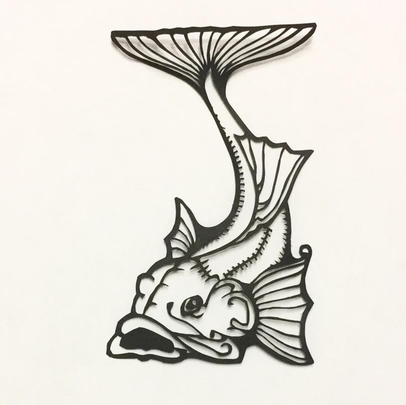 fish papercut 017 - kay vincent