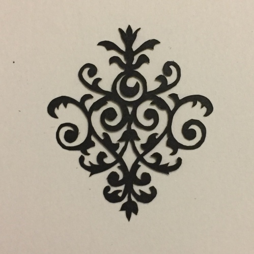 papercutting from 922 decorative vector ornaments book