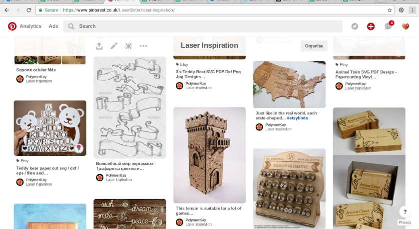 Pinspiration - pinterest inspiration - laser cutting