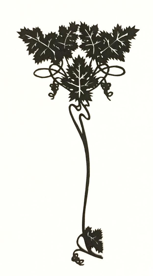 papercut 024 - art nouveau style papercutting