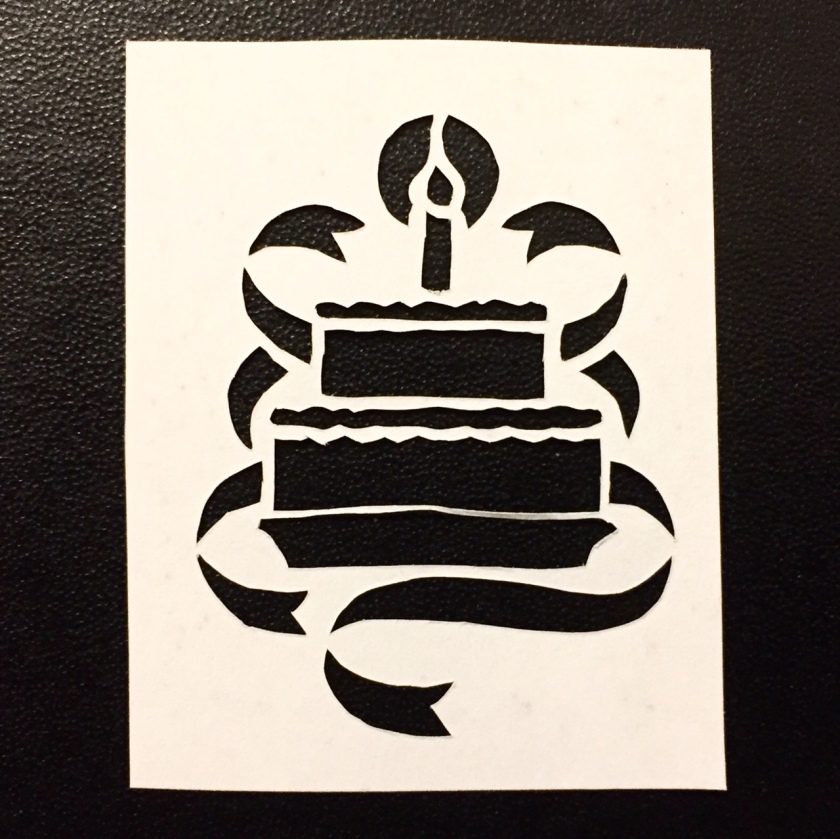birthday cake papercut 077 - Kay Vincent - LaserSister