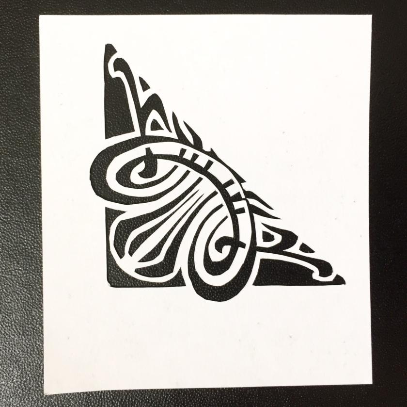 art nouveau papercut 79 - Kay Vincent - LaserSister